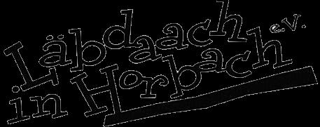 Läbdaach in Horbach e.v. Logo